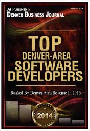 Image of Denver Business Journal Top Software Developers 2014