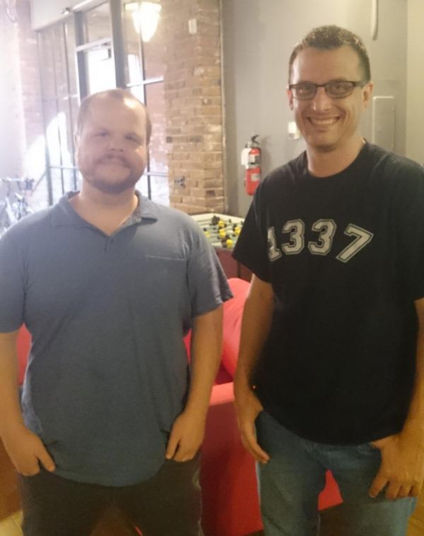 Brad Bowman and Kevin Bridges